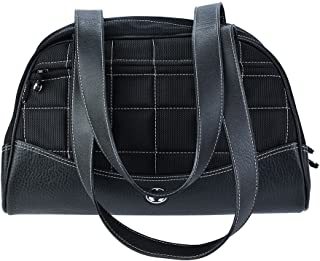 Sumo Duffel - Black with White Stitching