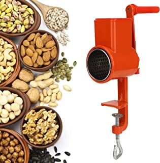Mingtongli Molinillo de caf/é Cepillo con cerdas Suaves Mango de Madera del Grano de caf/é Dusting Brush