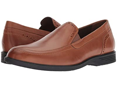 Hush Puppies Shepsky Slip-On (Dark Tan Leather) Men