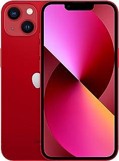 جوال ابل ايفون 13 الجديد مع تطبيق فيس تايم (128 جيجا) - أحمر