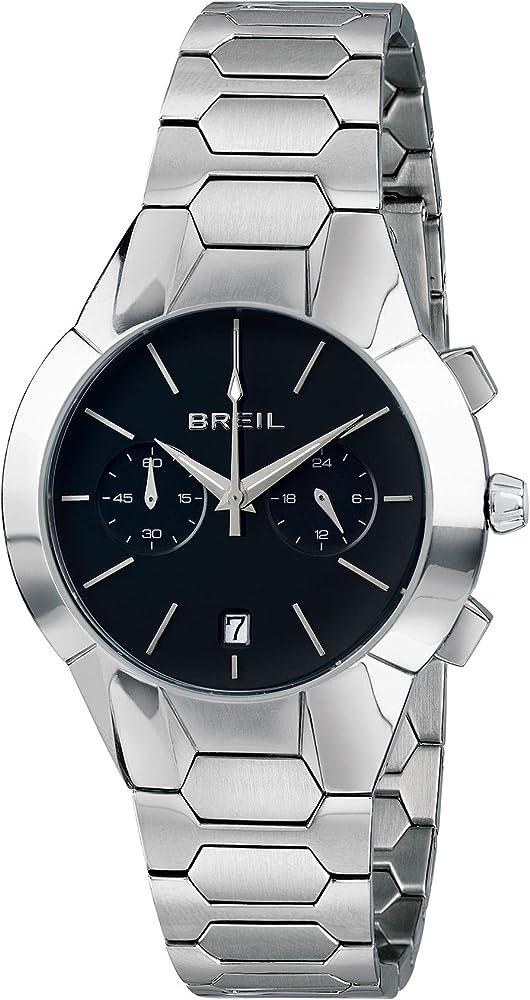 Breil - orologio cronografo da donna collezione new one in acciaio inossidabile lucido TW1850