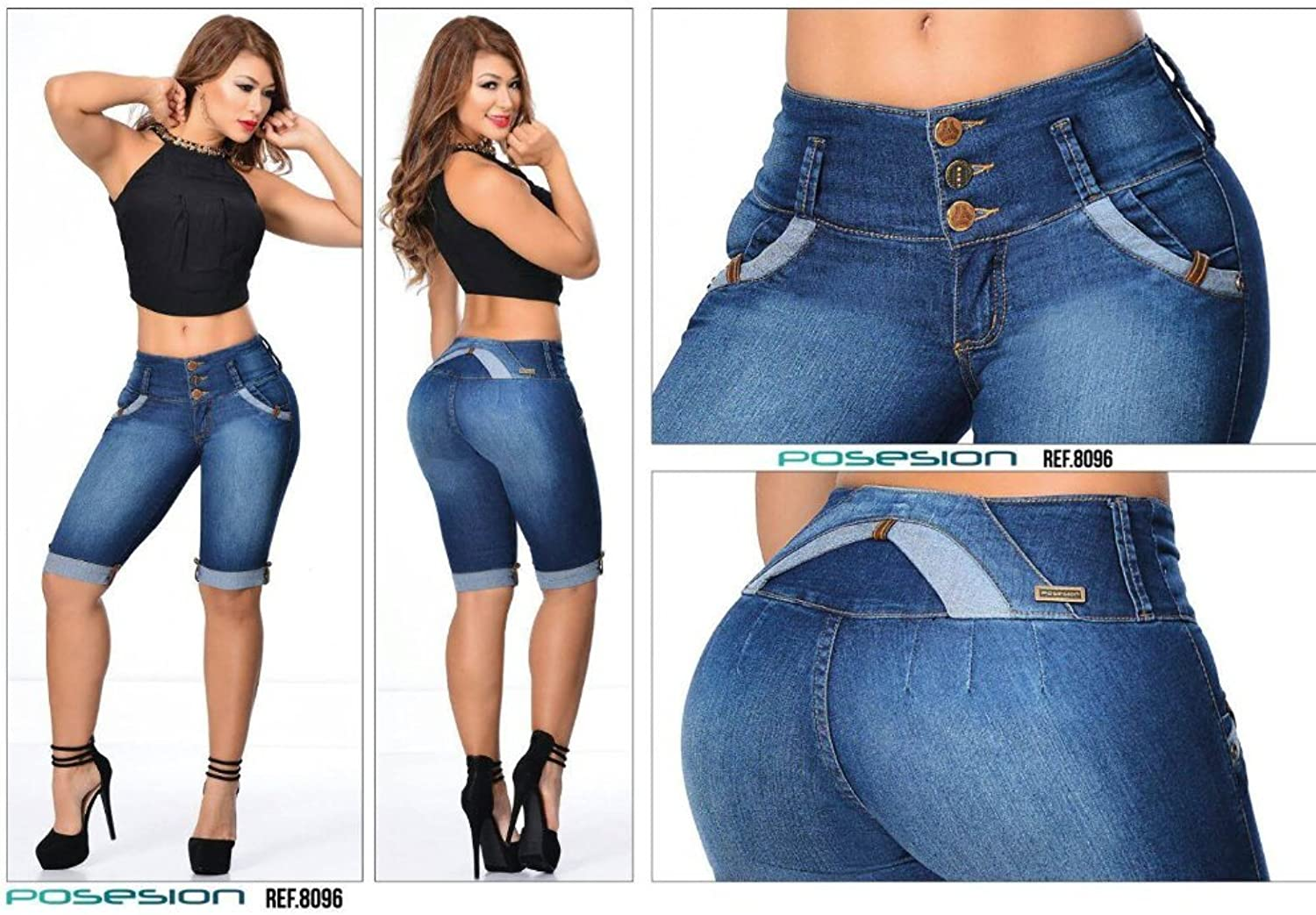 100% Authentic Colombian Push Up 10195 Jean by Gales
