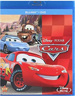 Cars (Two-Disc Blu-ray/DVD Combo in Blu-ray Packaging) (2006)