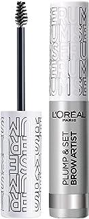 L'Oreal Paris Brow Artist Eyebrow Gel, Plump and Set Brow, Transparent