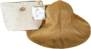 Cappelli Straworld PACK-A-HAT Brown