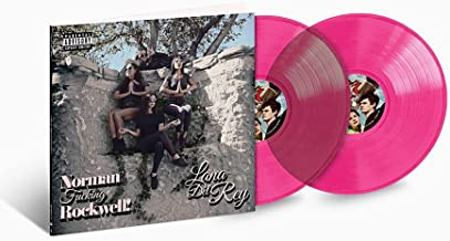Lana Del Rey - Norman Fucking Rockwell 2XLP Pink Vinyl LP