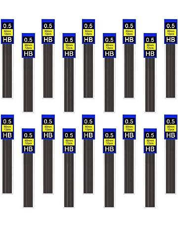 Piombo di ricarica 0,5 mm HB HB 2B 2H 0,3//0,5//0,7//0,9 mm 0.3mm HB 30 per tubo resistente alla rottura