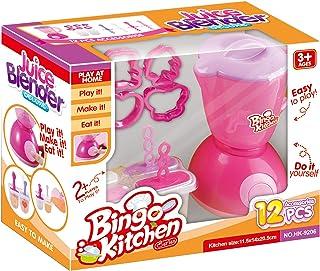 Bingo Hk-9206 Kitchen Set Juice Blender Machine- 12 Pieces