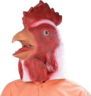 Vieil homme monstre coq