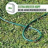 GardenGloss 25 Premium Anti-ROST Erdanker aus Stahl - Stabile Bodenanker für Unkrautvlies, Gartenvlies, Zaun & Camping - 150 MM Lang, 30 MM Breit, Ø 3 MM - 4