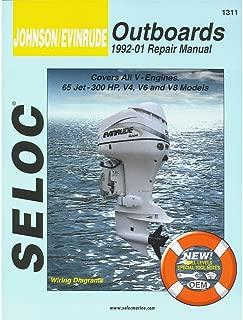 Seloc Service Manual - Johnson/Evinrude - All V Engines - 1992-01