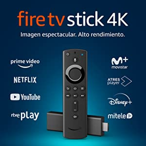 Fire TV Stick 4K Ultra HD con mando por voz Alexa de última generación | Reproductor de contenido multimedia en streaming