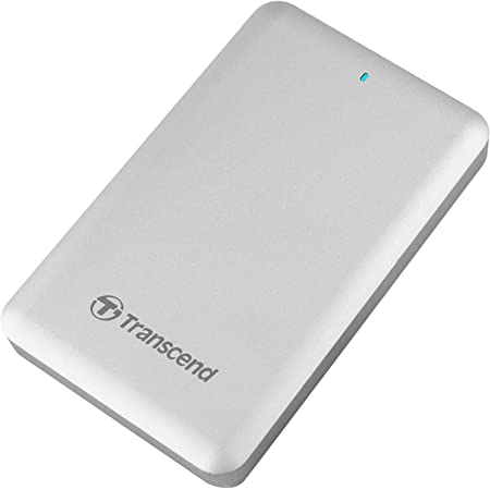 Transcend Thunderbolt対応 外付けSSD USB3.0/2.0 ポータブルSSD StoreJet for Mac 1TB 3年保証 TS1TSJM500