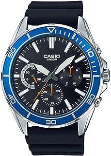 كاسيو ساعة للرجال - جلد - MTD-320-1AVDF