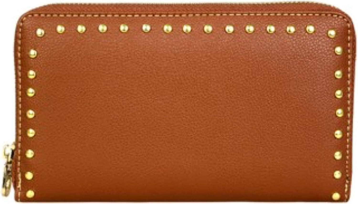 Montana West Studs Collection Phone Charging Clutch Wristlet. Wallet