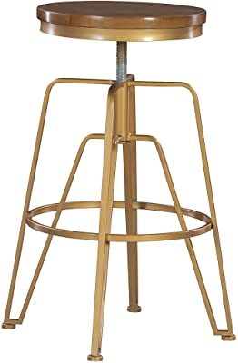 OFM 920-MTL Metal Stool with Dark Vein Seat and Legs