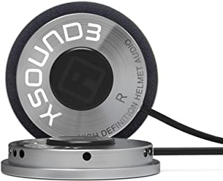 iASUS XSound 3 High Definition Helmet Speakers (Made for iASUS throat mic headsets, smartphones, and portable music players)