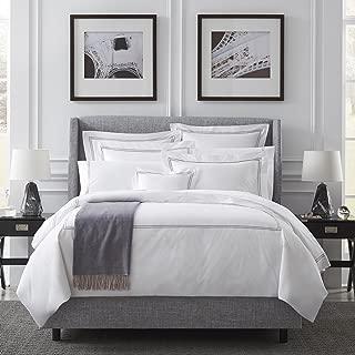 Grande Hotel by Sferra - Standard Pillow Case 22x33 (White/Grey)