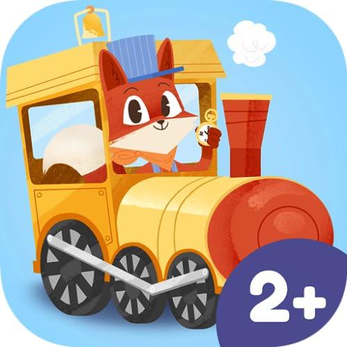 Pequeño zorro: el tren – Aventuras en tren para niños