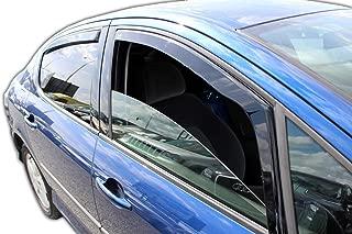 Déflecteurs de vent pluie air teintées pour Ford Focus I Mk1 5 portes 1998-2005