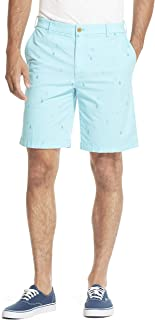 "IZOD Men's Saltwater Stretch 9.5"" Chino Printed Shorts"