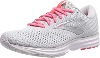 Brooks Women's Revel 2, Grey/White/Pink