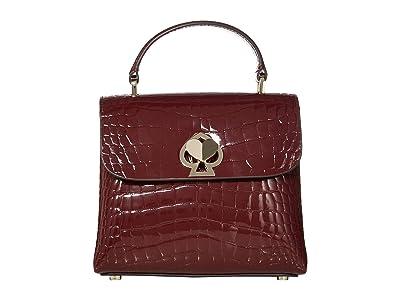 Kate Spade New York Romy Mini Top-Handle (Cherrywood) Handbags