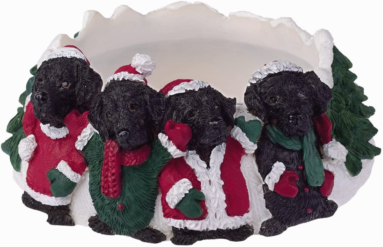 ES Pets Columbus Mall Seasonal Wrap Introduction 35357-21 Topper Candle