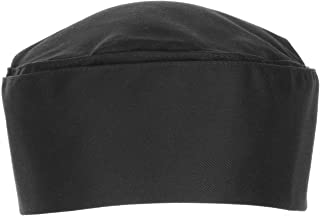 Chef Works Unisex Double-Rimmed Chef Beanie, Black, One Size