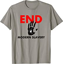 End Modern Slavery Support Anti-Human Trafficking Awareness T-Shirt