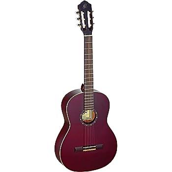 Ortega R131SN-WR - Guitarra clásica (cedro y caoba, tamaño 4/4 ...