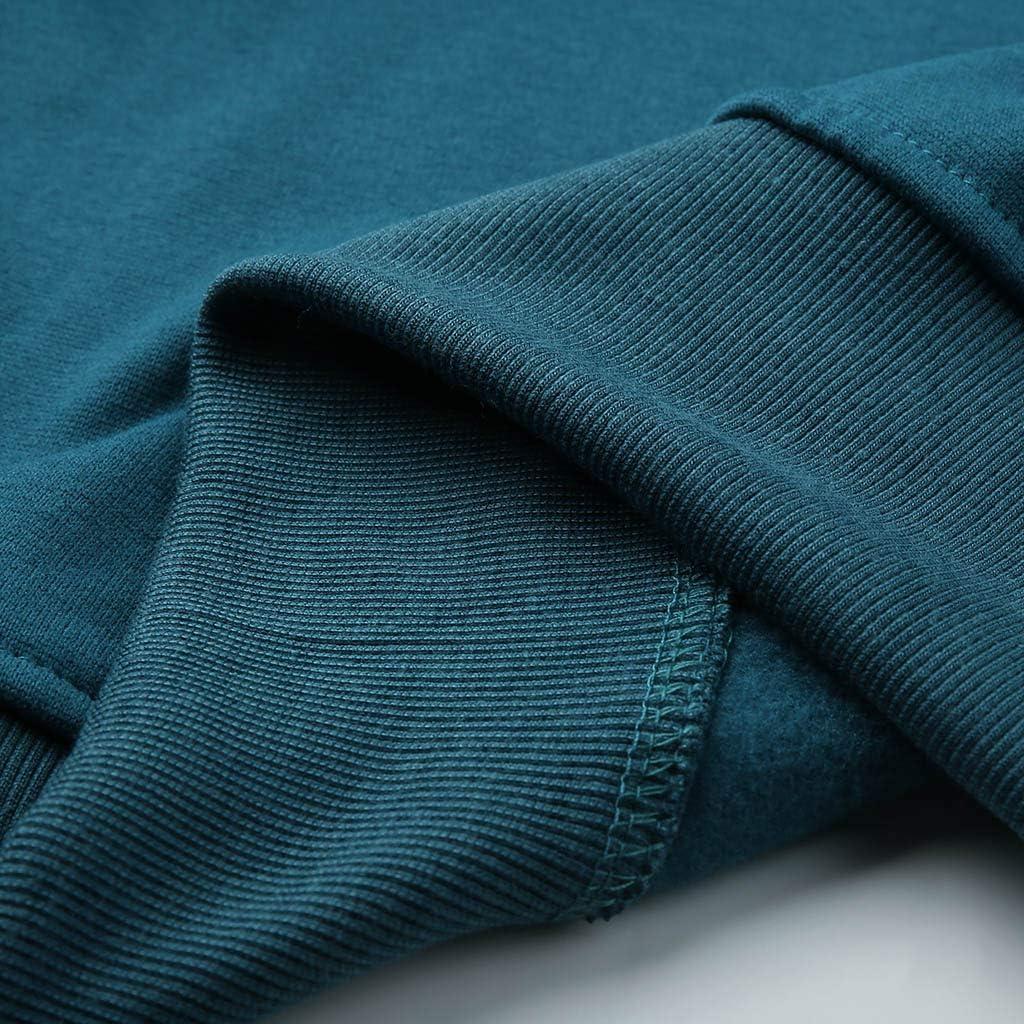 WYTong Men's Sweatshirt Hoodies Slim Fit Long Sleeve Sweater Fas