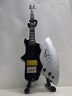 $41 » Axe Heaven Gene Simmons Signature Classic Axe Miniature Bass Guitar Replica