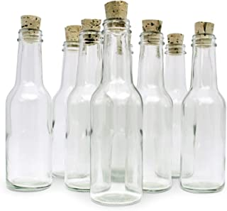 12 Glass Bottles & Corks for Message in a Bottle Invitations & Announcements