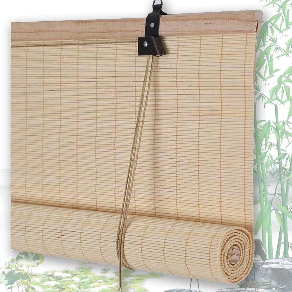 Estores De Bambú Persianas QIANDA Protección Privacidad ...