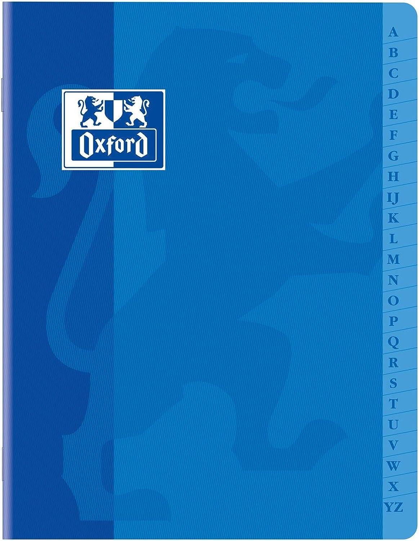 Oxford Schreibheft, Verzeichnis Heft Heft Heft 17 x 22 cm 120 Seiten 90 g Q5 5 Deckel Karte zufällige B06VY28CVR   Verschiedene Stile und Stile  984e8e