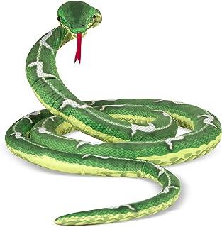 Melissa & Doug Giant Boa Constrictor - Lifelike Stuffed Animal Snake - Over 14 Feet Long