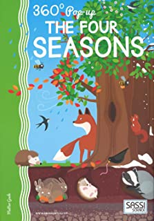 Sassi Junior 360 Popup The Four Seasons Puzzle - 6 Years and Above;360 Degree Pop-Up