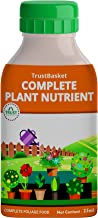 TrustBasket Concentrated All Purpose Organic Plant Nutrient Feeds 100 Plants Upto 3 Months