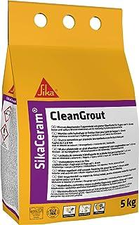 SikaCeram CleanGrout, Lechada de cemento para relleno de juntas de 1 a 8 mm (CG2), 5kg, Beige