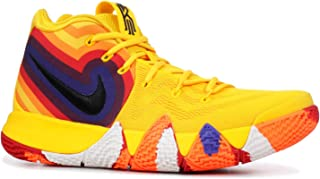 da4f8c60e53 Nike Kyrie 4 Decades Pack 70s 943806-700 Amarillo/Black Men's Basketball  Shoes (