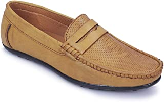 POLLACHIEF Comfort Synthetic Casual Loafers Shoes for Men's