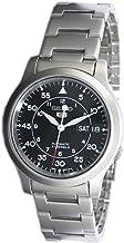 [セイコーインポート] SEIKO import 腕時計 海外モデル SNK809K1 ブラック メタルベルト メンズ [逆輸入]
