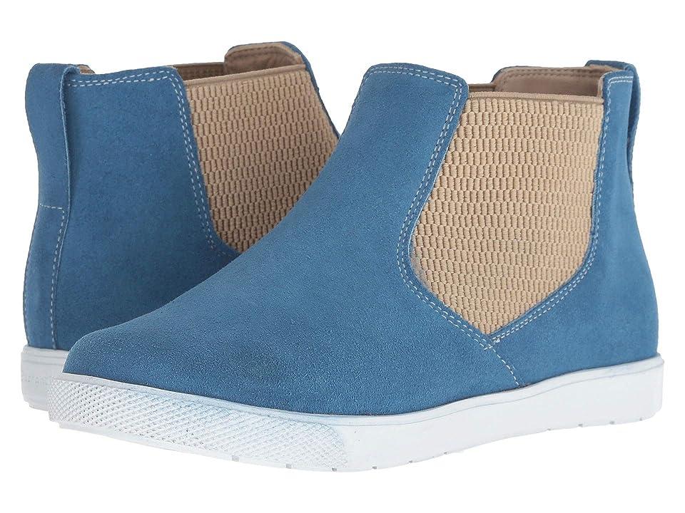 Elephantito Flexie Bootie (Toddler/Little Kid/Big Kid) (Suede Blue) Kids Shoes