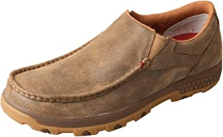 Men's CellStretch D Toe Driving Mocs Casual Slip-On Shoes - Bomber