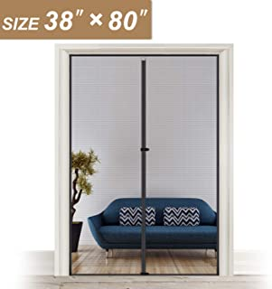 Magnet Screen Door Curtain 38, Mosquito Patio Screen for Doors Size Up to 38