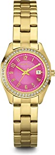 Caravelle New York Women's 44M107 Perfectly Petite Pink Gold Watch