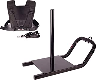 Mir Heavy Duty Weighted Power Speed Training Sled with Shoulder Harness