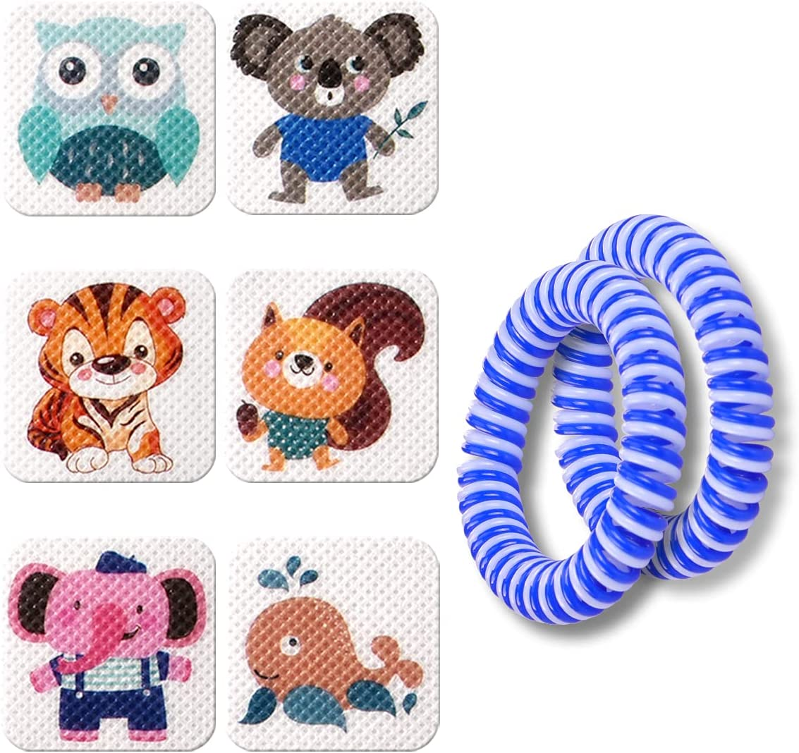 Popular popular BuggyBands 120 Pack Mosquito Patches Stickers N for Adult - Many popular brands Kids