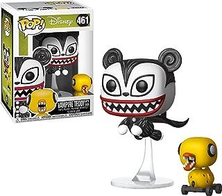 Funko 34429 Pop! Disney: Nightmare Before Christmas - Vampire Teddy with Undead Duck, Multicolor